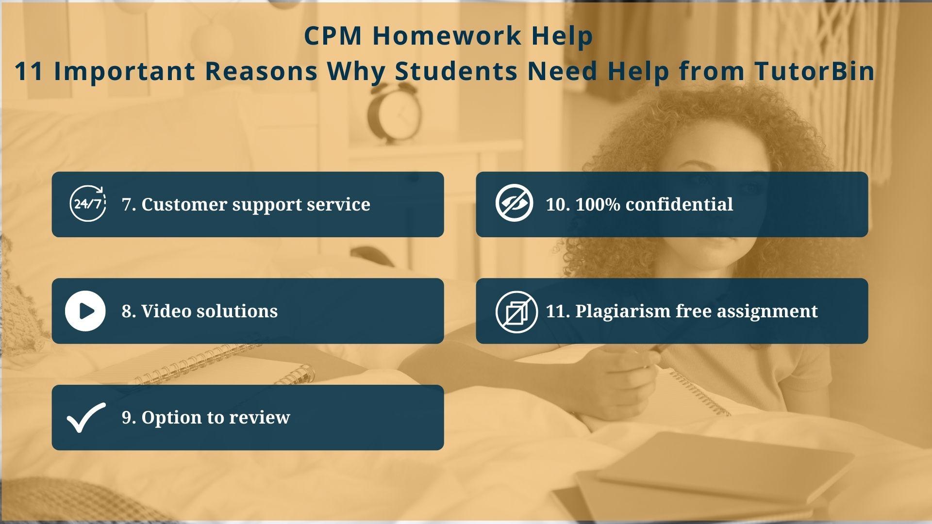CPM-Homework-Help